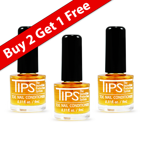 TIPS Toe Nail Conditioner Buy 2 Get 1 Free